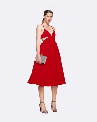 Fame & Partners – Southern Sun Dress – Dresses (Red)