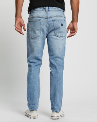 Abrand A Dropped Slim Turn Up Jeans - Slim (Ringer Rip)