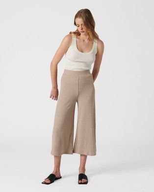 MVN Brixton Culottes - Pants (Latte)