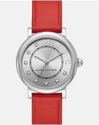 Marc Jacobs - Marc Jacobs Classic White Analogue Watch