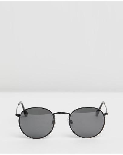 Carolina Lemke Berlin Cl6402 Black Frame & Smoke Lenses