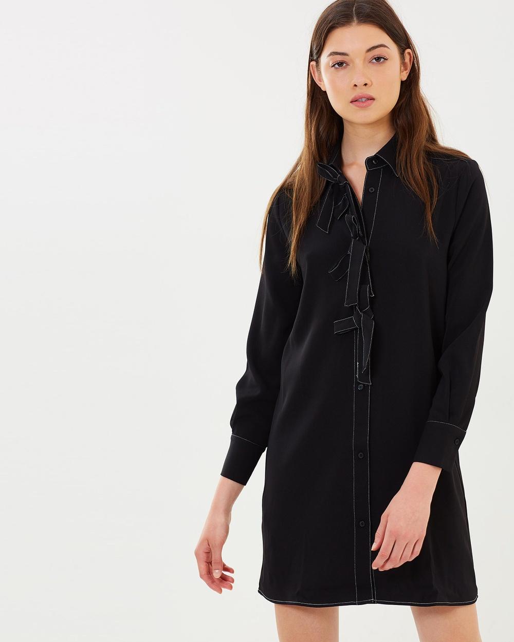M.N.G Lazos Dress Dresses Black Lazos Dress