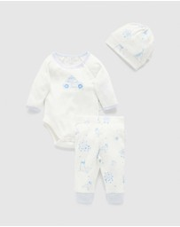 Purebaby - 3-Piece Gift Pack - Babies