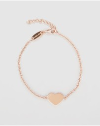 My Little Silver - Glossy Heart Bracelet - Kids