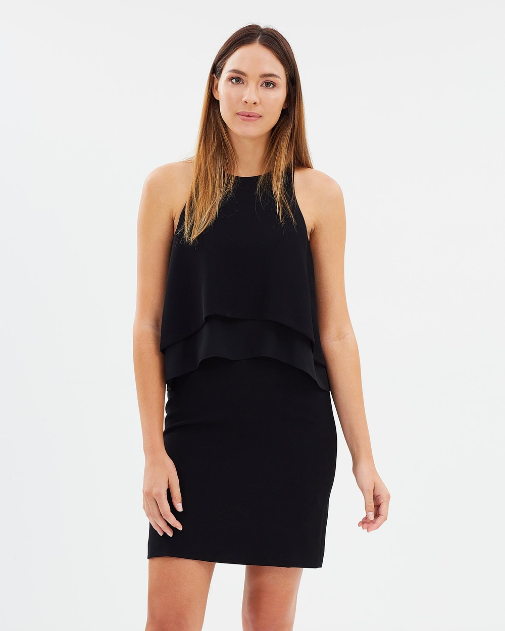 SABA Petra Mini Dress Dresses Black Petra Mini Dress