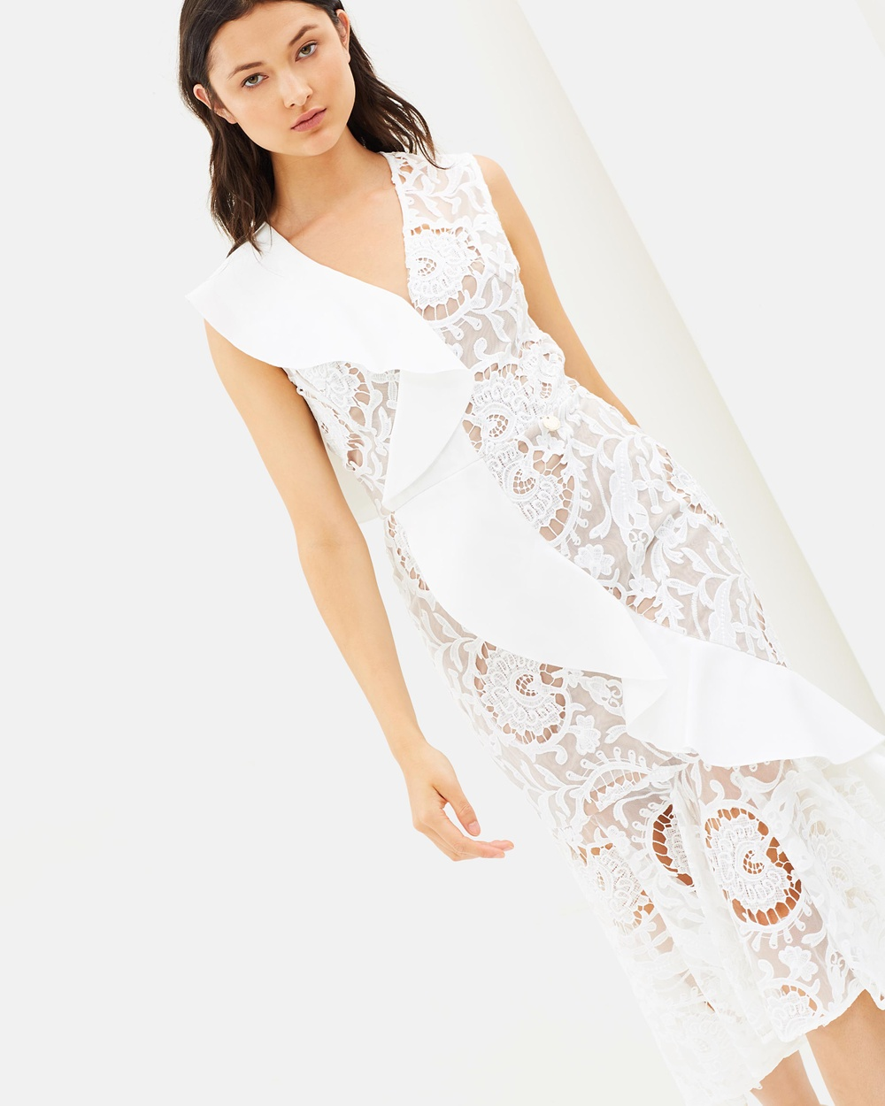 Bronx & Banco Rocha Dress Dresses White Rocha Dress