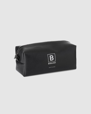 Biologi Biologi x Matt & Nat Limited Edition Vegan Cosmetic Bag - Bags & Tools (Black)