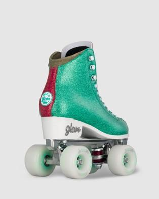Crazy Skates Disco Glam - Performance Shoes (Teal)