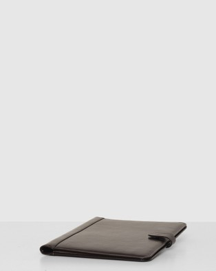 Republic of Florence Recto Black A4 Leather Compendium - All Stationery (Black)