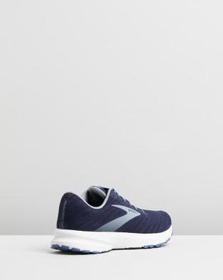 Brooks Launch 7   Men's - Outdoor Shoes (Peacoat, Primer Grey & White)