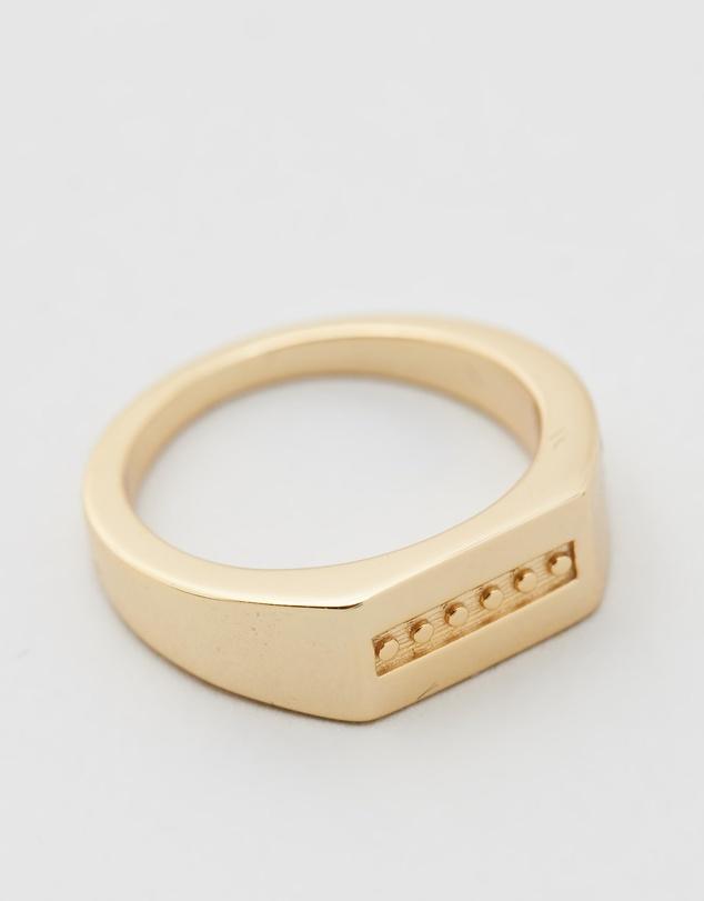 Women Rectangle Signet Ring