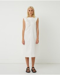 FRIEND of AUDREY - Hannah Cotton Sleeveless Dress