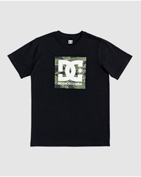 DC Shoes - Youth Square Camo Star T Shirt