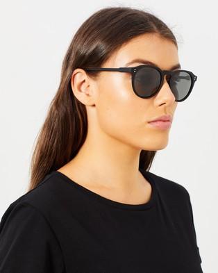 Cancer Council Bright Polarised - Sunglasses (Black Rubber)