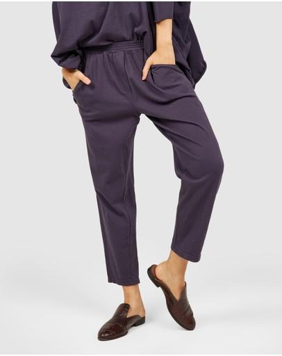 Primness Cozy Twisty Pants Indigo