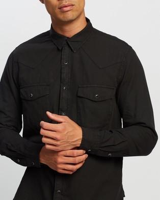 Neuw Waits Western LS Shirt - Casual shirts (Black)