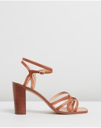 Atmos&Here - Kayla Leather Heels