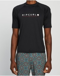 Rip Curl - Shockwave Relaxed SS UVT Rash Tee