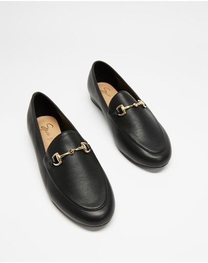 Spurr Sabinah Loafers (wide Fit) Black Smooth