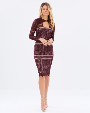 Cooper St – The Last Hurrah Long Sleeve Dress