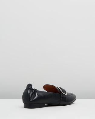 Jo Mercer Dorset Casual Flats - Flats (Black Leather)