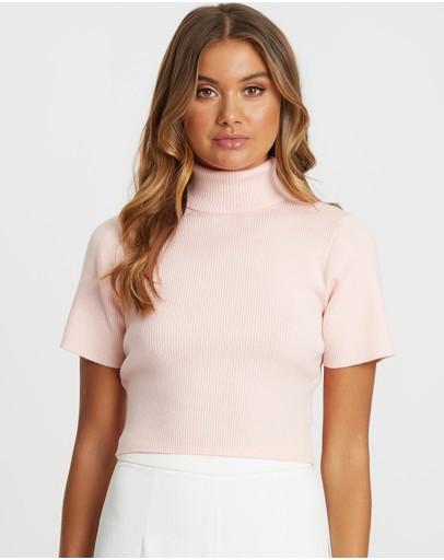 Tussah Elmani Knit Top Baby Pink
