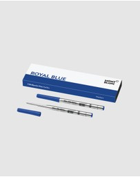 Montblanc - Refill Ballpoint Medium 2x1 Royal Blue PF