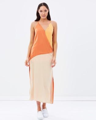 Staple the Label – Eclipse Dress – Dresses (Multi Neutral)