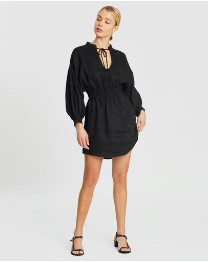 Third Form Play On Dress Black