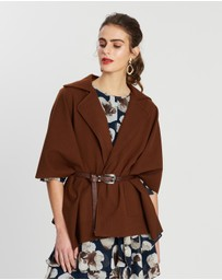 Forcast - Ariyah Belted Jacket