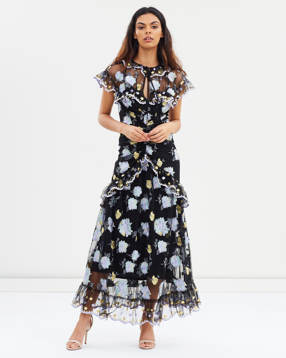 alice McCALL Floating Delicately Dress Dresses Black Floating Delicately Dress