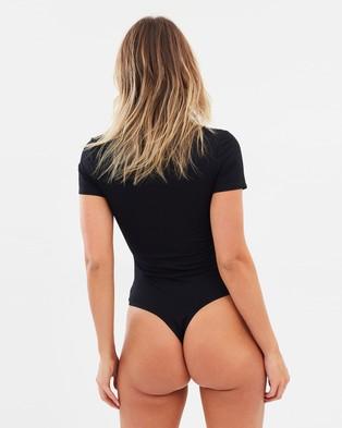 Atmos&Here Lola Bodysuit - Tops (Black)