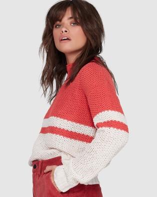 Element Radar Sweater - Jumpers & Cardigans (CRANBERRY)