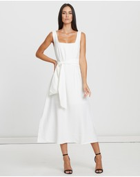 Willa - Charles Square Neck Dress