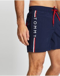 Tommy Hilfiger - Branded Drawstring Swim Shorts