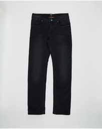 BOSS - Slim Stamped Jeans - Kids
