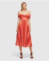 Lover - Papillon Midi Dress