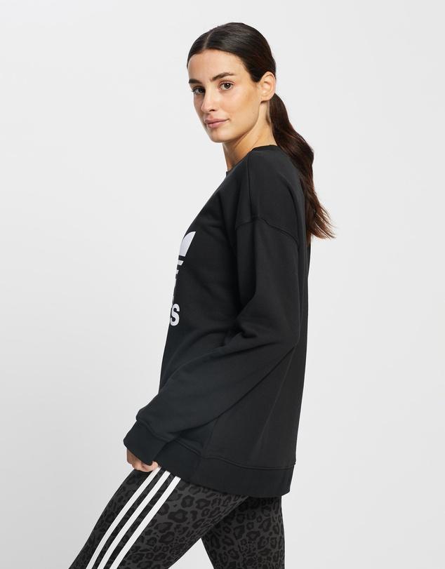 Women Trefoil Crew Sweatshirt