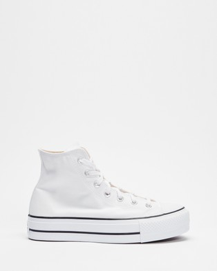 Converse Chuck Taylor All Star Lift Hi   Women's - Sneakers (White)