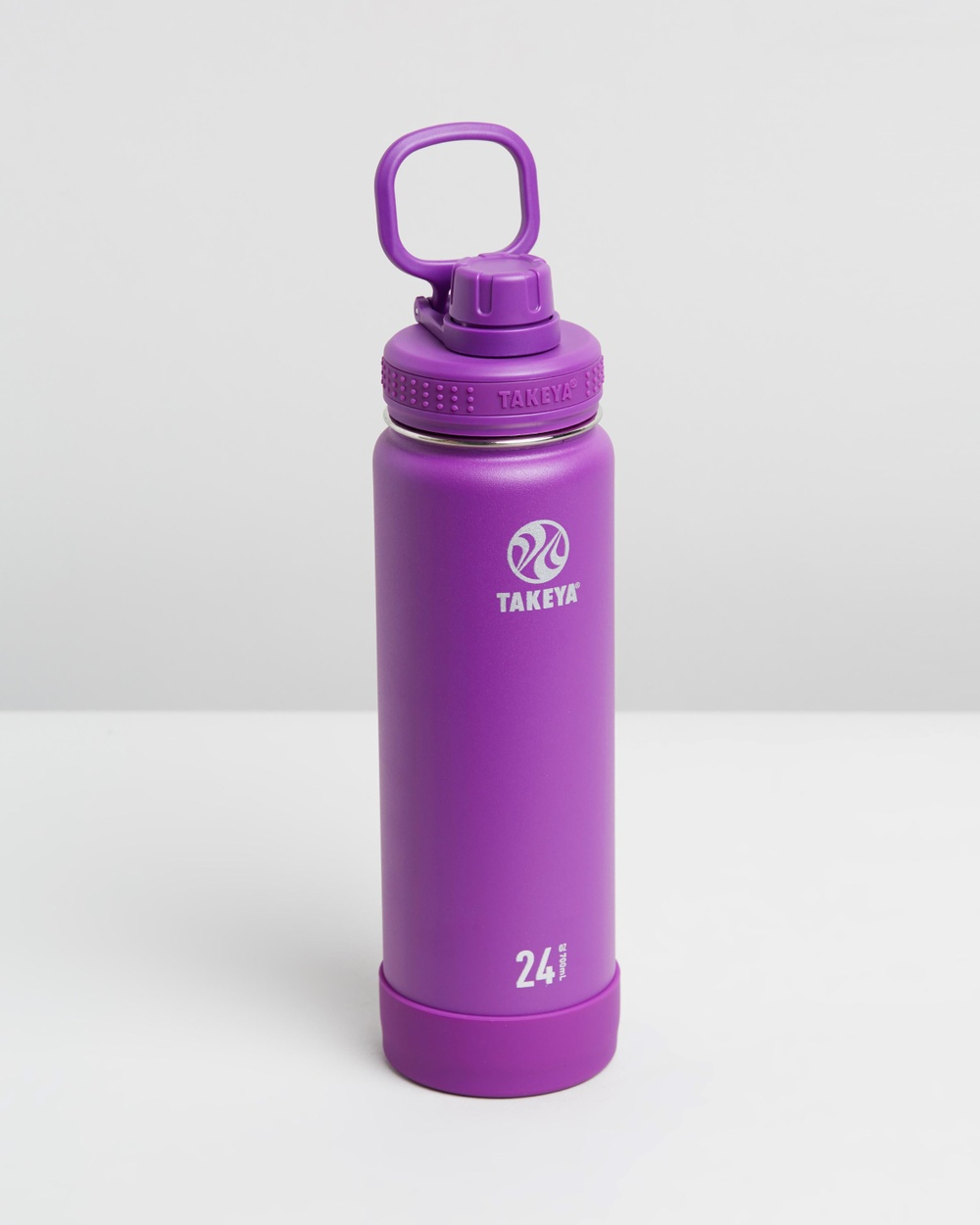 TAKEYA 700ml Insulated Stainless Steel Bottle 24oz Water Bottles Violet
