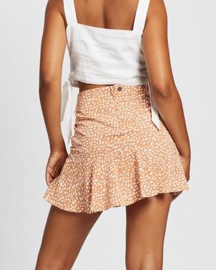 All About Eve Blair Flippy Skirt Skirts ORANGE