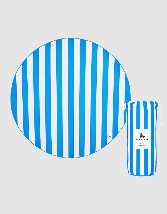 Life Round Beach Towel 100% Recycled
