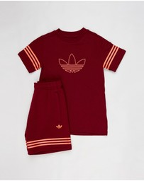 adidas Originals - Outline Tee Set - Kids
