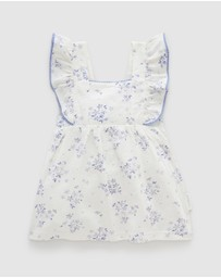 Purebaby - Bodysuit Dress - Babies
