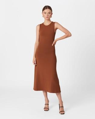 MVN Euphoria Dress - Dresses (Brown)