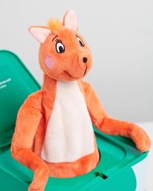 Mizzie The Kangaroo - Musical Hop Out Mizzie   Music Box - All toys (Music Box) Musical Hop Out Mizzie - Music Box