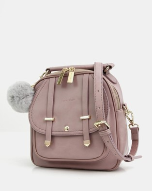 Belle & Bloom Camila Leather Backpack Gift Pack - Backpacks (Pink)