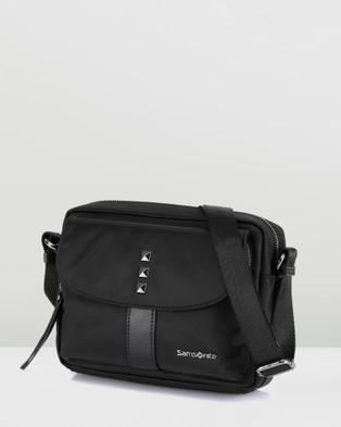 Samsonite Leah Cross Body Bag - Bags (Black)
