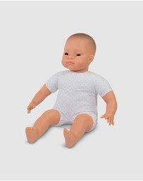 Miniland - Soft Bodied Asian Doll With Articulated Head