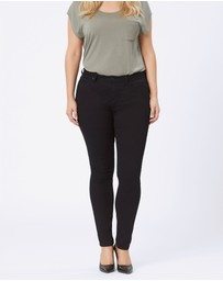 Jeanswest - Curve Embracer Skinny Jeans Absolute Black
